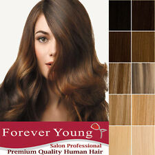Full Head Weft Set Hair Extensions Ultimate Deluxe Double Weft Remy Human Hair