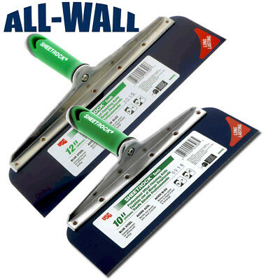 Usg Sheetrock Drywall Offset Taping Knife Combo - 10 12 Blue Steel Riveted
