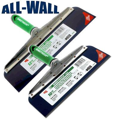 Usg Sheetrock Drywall Offset Taping Knife Combo - 10 12 Blue Steel Riveted