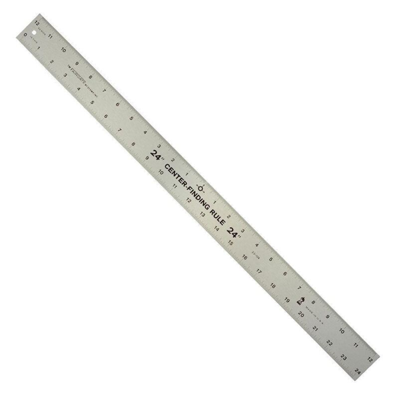 "24"" Center Finder Finding Ruler Centering Tool Rule"