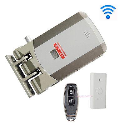 Wireless Door Lock Security Electric Home Anti-theft Lockremote Control Opening