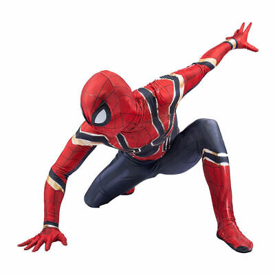 Kinder / Erwachsene Avengers Infinity War Iron Spiderman Cosplay Complete Outfit ()
