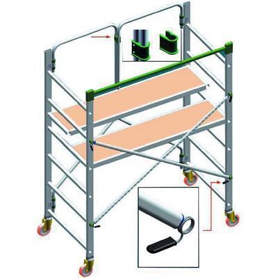 Andamios de Acero Aluminio FACAL Doble Resellable 200X150x75