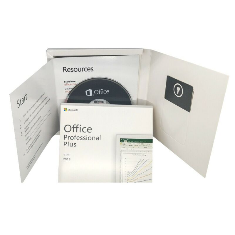 Microsoft Office 2019 Professional Plus (Retail Box) *Sealed*
