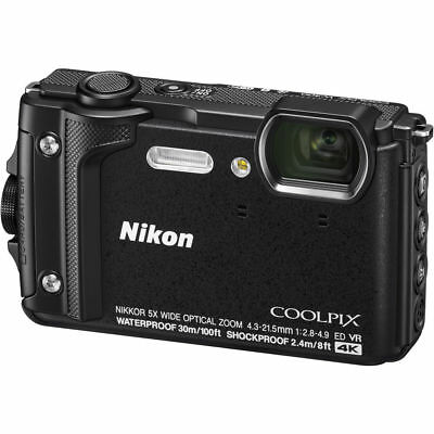 Nikon COOLPIX W300 Digital Camera (Black) 26523