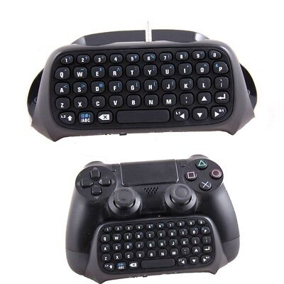 For Sony PS4 PlayStation 4 Controller Mini Bluetooth Wireless Keyboard Black GL