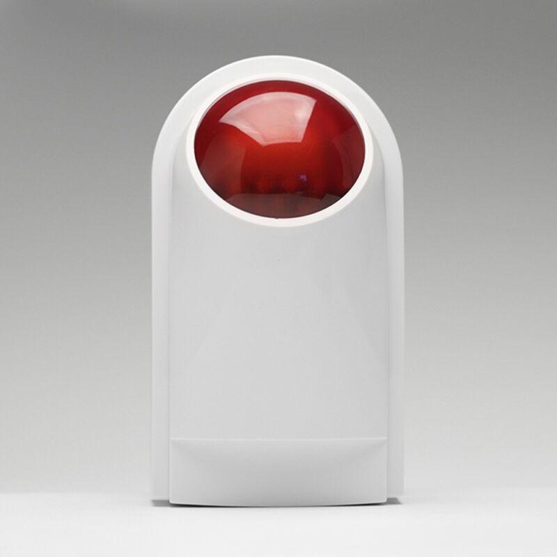 Sound Light Wireless Outdoor Flash / Strobe Siren For Home B
