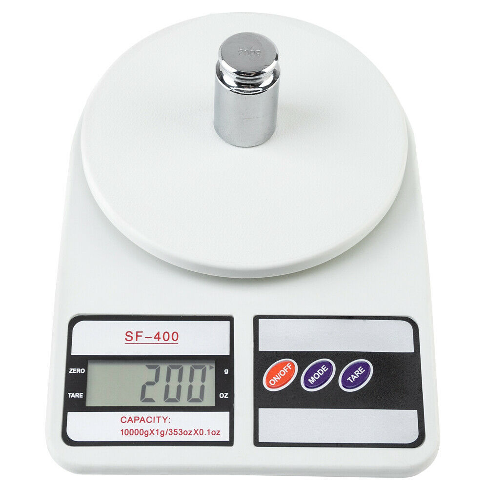 10kg x 1g Digital Kitchen Electronic Gram Scale Diet Food Po