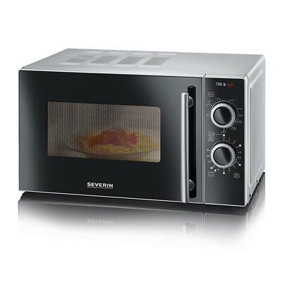 SEVERIN Mikrowelle mit Grill Leistung 700 W Mikrowellenherd Microwave Ofen