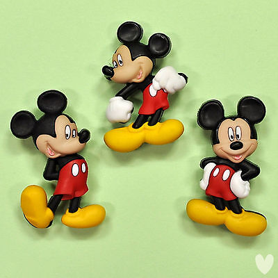 DISNEY Mickey Mouse 7716 Dress It Up Buttons - Embellishments