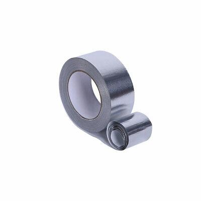 Aluminium Foil Tape Rolls 50mm 25meter Heat Insulation Duct Self Adhesive Silver