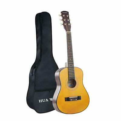 30 Inch Acoustic Guitar  Mini Guitars in Basswood Steel Strings with Gig Bag