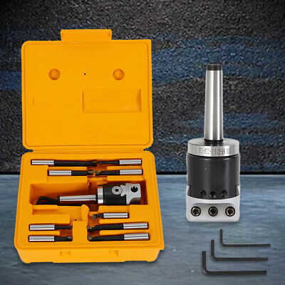 Boring Bar Cnc Milling Tools Kit Set Mt2-m10 F1-12 50mm Boring Head 9pcs 12mm