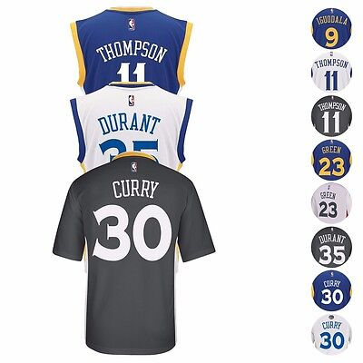 2016 17 Golden State Warriors Adidas Nba Replica Player Jersey Collection Mens