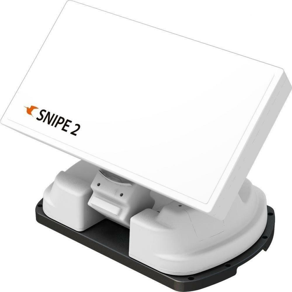 Selfsat SNIPE V2 SE Single Vollautomatische Satelliten Antenne mit Bodenplatte