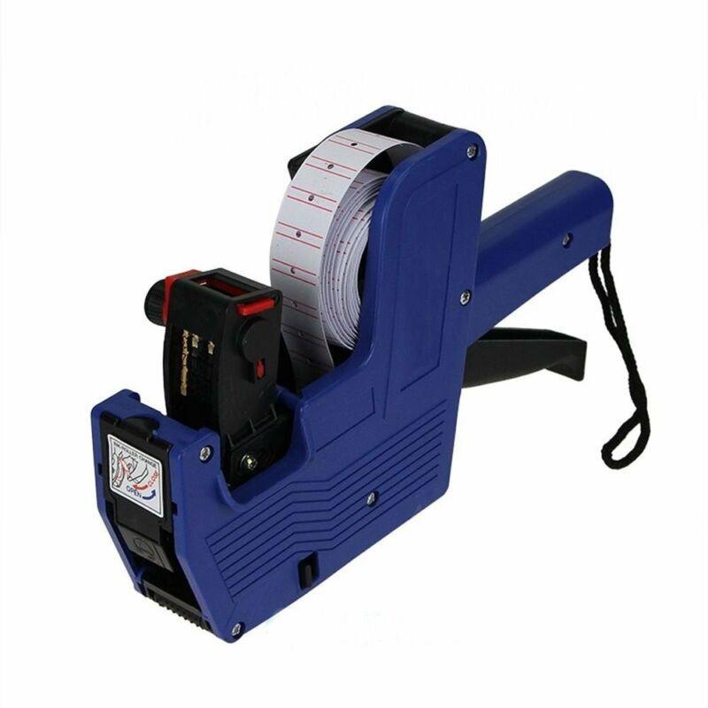 MX-5500 8 Digits Price Tag Gun + ink Blue