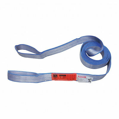 Web Lifting Sling Tow Strap - Nylon Polyester Type 3 Flat Eye Eye 1-ply 2-ply