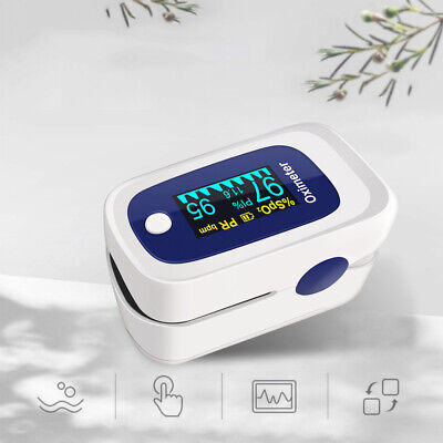 Medical Finger Tip Pulse Oximeter With Oled Spo2 Saturation Oxymeter Portable