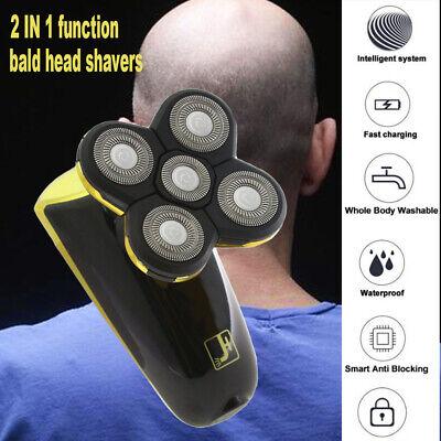 Best Bald Head Shavers Smart Smooth skull head shaver Cordless 5 head Wet/Dry