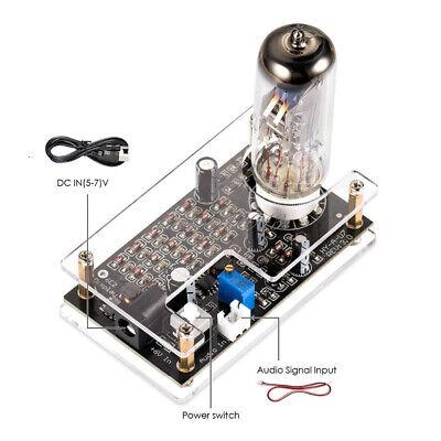 Hifi Magic Eye 6e2 Em87 Preamp Tube Audio Level Indicator Vu Meter Driver Board