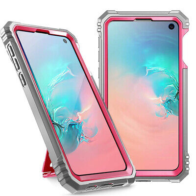 Samsung Galaxy S10e Case | Poetic Shockproof Cover with Screen Protector Pink