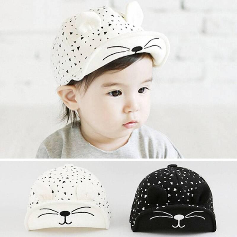 Kinder Baby Unisex Jungen / Mädchen Baumwolle Baseball Cap Sonnenblende Cap