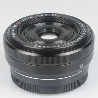 Fujinon XF27mmF2.8 - Black