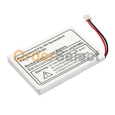 New Replacement Rechargeable Battery for Apple iPod 4th Generation 20GB 30GB