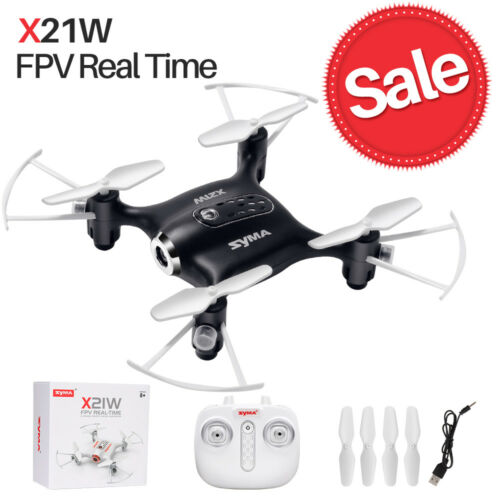 Syma X21W 2.4G RC Drone with HD Wifi Camera FPV Real Time Hover Gyro Quadcopter