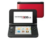 Nintendo 3ds xl red/black LIMITED EDITION