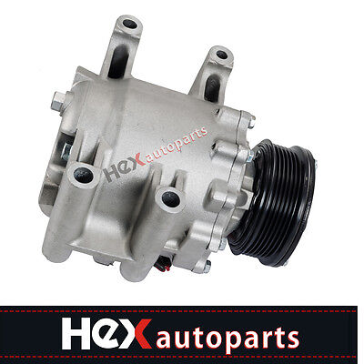 - AC A/C Compressor For 2002-2009 Chevrolet Trailblazer & GMC Envoy 6 CYL TRSA12