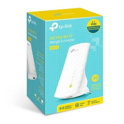 RANGE EXTENDER RIPETITORE UNIVERSALE TP-LINK RE200 AC750 750MBPS WIRELESS WIFI