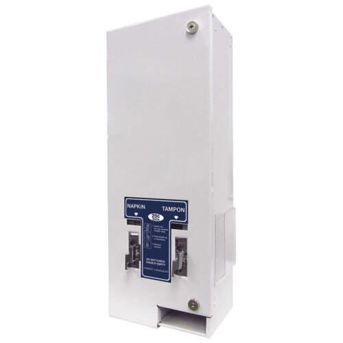 Hospeco D1-25 Feminine Sanitary Napkin, Tampon Dispenser  in White