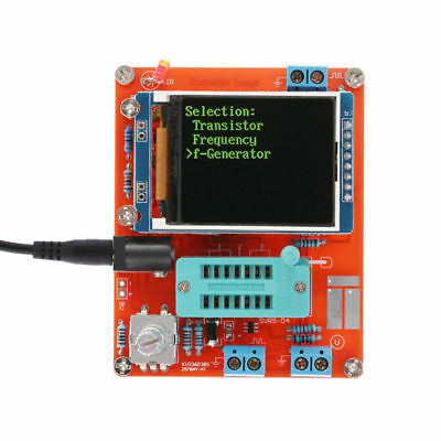 Signal Generator Tool Component Tester Transistor Diode Capacitance Esr Meter