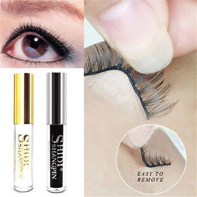 Waterproof Fake False Eyelash Adhesive glue Black / White 5g Eye Lash Makeup (Adhesive Makeup)