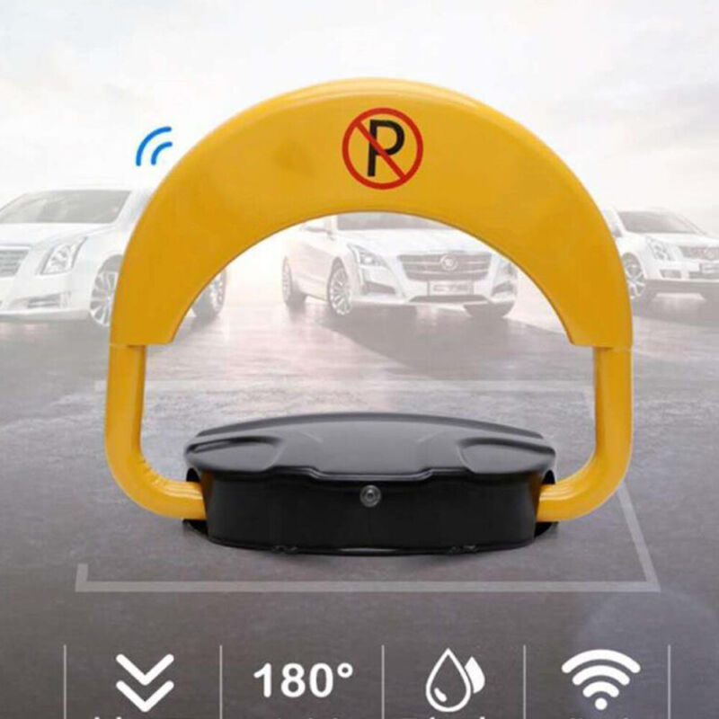 PARKING BARRIER Lock CAR Space Reserved BOLLARD VEHICLE DRIVEWAY SAFETY SECURITY