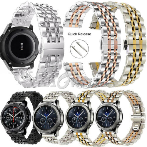 Stainless Steel Wrist Watch Band Strap Bracelet For Samsung Galaxy Watch 42mm US