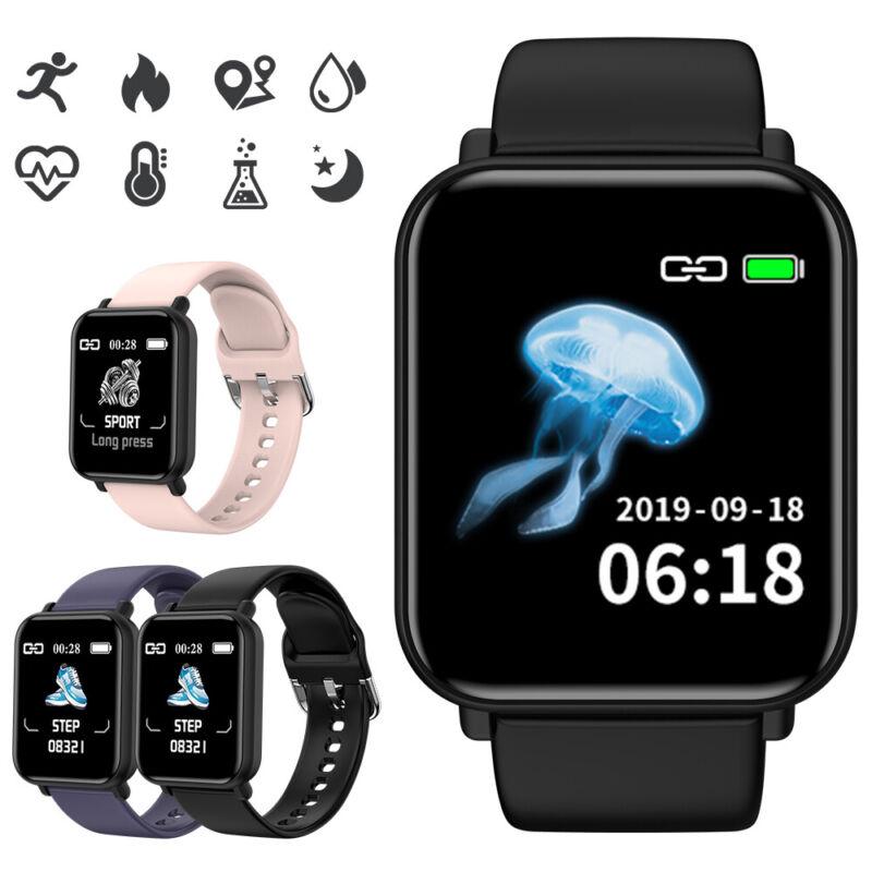 Waterproof Touch Smart Watch Women & Men Heart Rate Bracelet