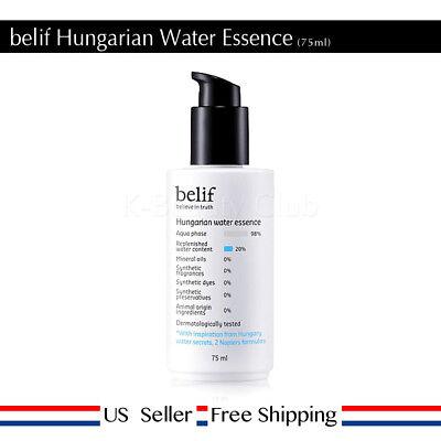 Hungarian Water - belif Hungarian Water Essence 75 ml + Free Sample [ US Seller ]