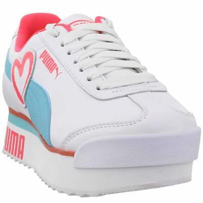 Puma Roma Amor Heart Sneakers Casual   Sneakers White Womens - Size 7 B