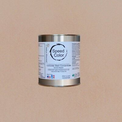 Fast Drying Concrete Paint Speed Color 24oz Concentrate Yields 1 Gal Cream
