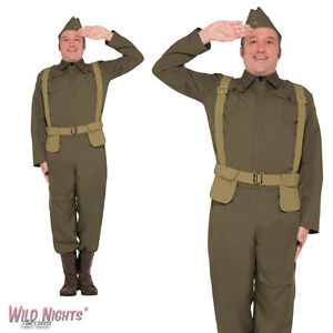 FANCY-DRESS-COSTUME-MENS-WW2-HOME-GUARD-PRIVATE-COSTUME-38-44