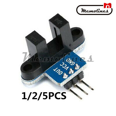 125pcs Ir Infrared Slotted Speed Measuring Detection Optocoupler Sensor Module
