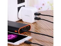 Job lot 35 x Lumsing Dual-Port USB Wall Charger For Samsung iPhone