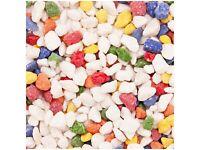 40kg of rainbow fish tank gravel