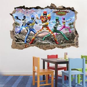 power rangers dino super charge smashed wall decal wall decal the best power ranger wall decals power