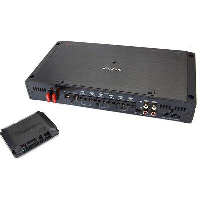 Kenwood eXcelon P-XR600-6DSP 6-kanals bilforstærker og Maestro AR-interface
