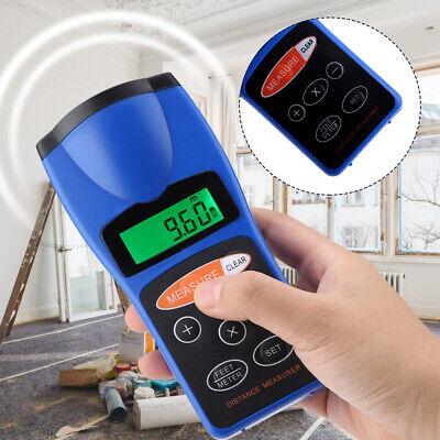 18m Ultrasonic Laser Distance Meter Measurer Area Volume Range Finder Measure