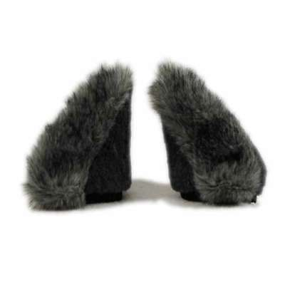 PAWSTAR NECOMIMI Ear SLEEVES ONLY - Wolf Gray cosplay Costume Covers [GY]3081 - Wolf Ears Costume