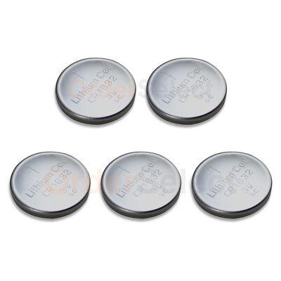 5 PACK Battery Coin Button Watch Calculator 3V BR1632 DL163200 ECR1632 DL1632